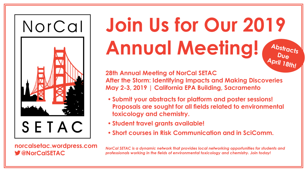 Join NorCal SeaTack for our 2019 Annual Meeting in Sacramento!